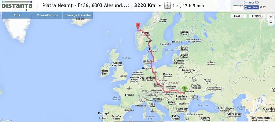 Norvegia - Alesund