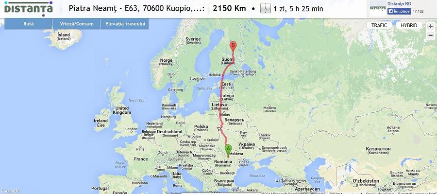 Finlanda - Kuopio