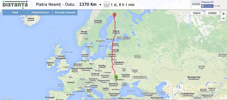 Finlanda - Oulu