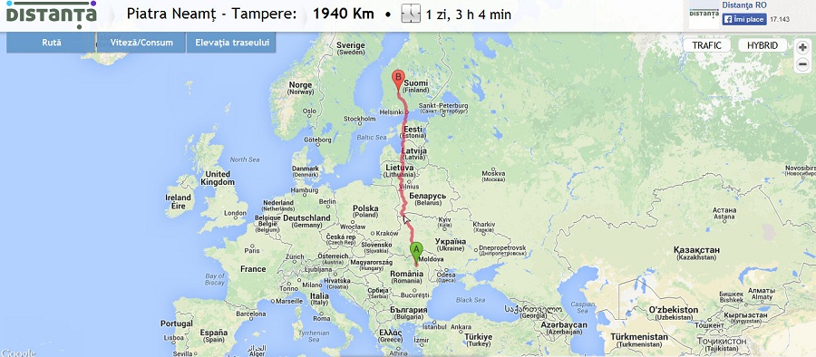 Finlanda - Tampere